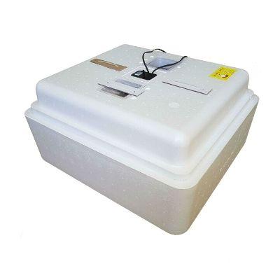 Инкубатор автоматический Несушка 77 яйц цифровой с гигрометром